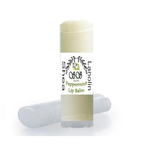 A Peppermint Natural Lip Balm