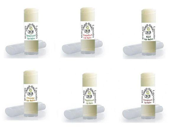 Wholesale Bulk Natural Lip Balms