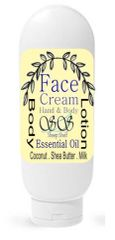 Squeeze Bottle - Lavender All in One Face Cream | Hand Body Lotion