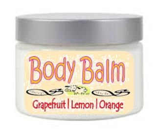 Citrus Pure Body Balm | Vitamin E | Natural Oils | Preservative Free