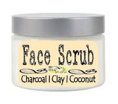 Charcoal With Bentonite Clay Face Scrub Wash | With Vitamins