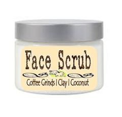 No Soap Face Scrub Wash | With Coffee Grinds