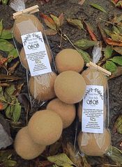 Dyer Balls With Rosemary Spray - 3 Pack Pure Sheep Wool