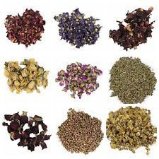 Dried Flowers | Lavender | Chamomile | Rose | Hibiscus | Jasmine...