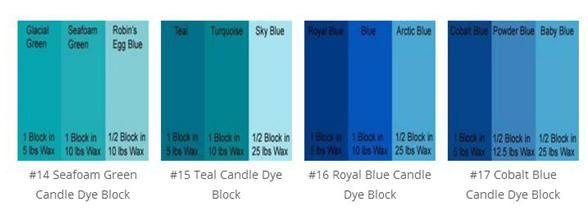 Candle Colour | Dye Blocks | #2