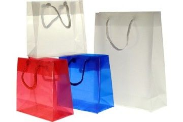 String Transparent Frosted String Handle Bags