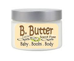 B Butter Cocoa | Scent Free | Preservative Free