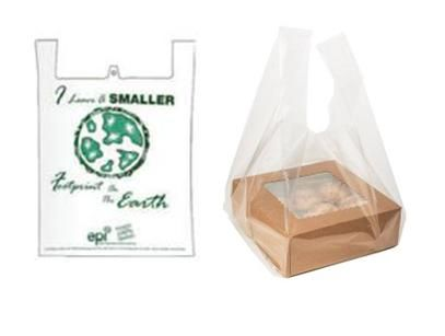 T Shirt Bags / Biodegradable / Regular / Clear