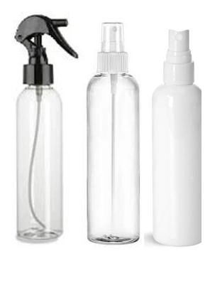 Plastic Spray Bottles | Misters