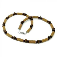 All Brown | Hazel wood necklace for adults Ontario Canada
