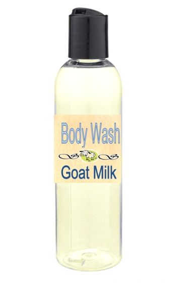 Goat Milk Body Wash Canada - Unscented or Choose an Essential Oil 8 oz