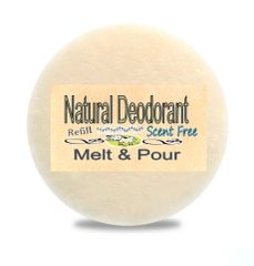 Zero Waste Natural Deodorant Ontario Canada | Scent Free or Choose a Scent