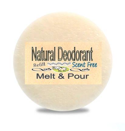 Zero Waste Natural Deodorant Ontario Canada   Scent Free or Choose a Scent