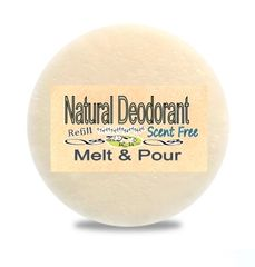 Zero Waste Natural Deodorant Wholesale Bulk| Ontario Canada | Scent Free or Choose a Scent