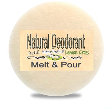 Zero Waste Natural Deodorant Ontario Canada | Lemon Grass