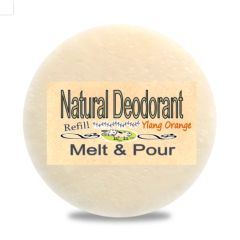 Zero Waste Natural Deodorant Ontario Canada | Ylang Ylang Orange