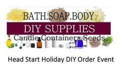 Head Start Holiday DIY Order - August 22 | 6:00pm - 7:30pm