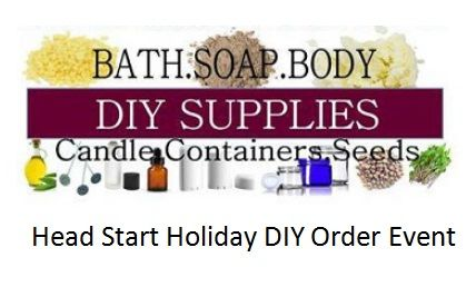 Head Start Holiday DIY Order - August 22   6:00pm - 7:30pm