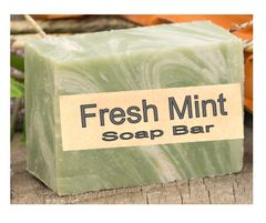 Fresh Mint Natural Handcrafted Soap Bar - 2.5 oz
