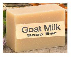 Large Natural Goat Milk Soap Bar - Unscented - 5 oz