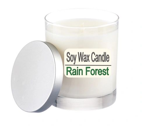A Pure Soy Wax Candle Rain Forest - 12 ounce Jar