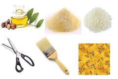 Beeswax Wraps Ingredients DIY Kit Ontario Canada - Beeswax, Pine Resin & Jojoba OIl Plus!