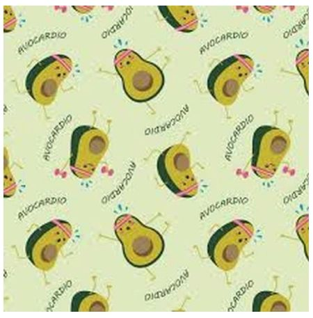 Fabric For Beeswax Wraps - 100 % Cotton | Green Avacardio