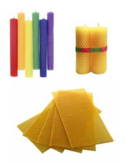 Beeswax Sheets - Craft Candle Sheets - Made in Canada