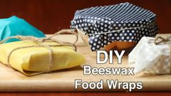 a- February 5 - From 6pm-7pm - Learn How to Make Beeswax Food Wraps