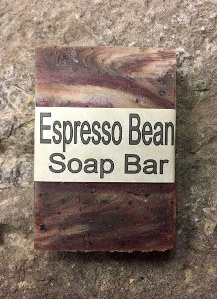 Expresso Bean Natural Soap Bar - 2.5 Ounce