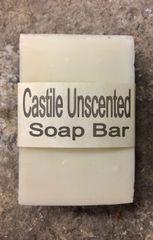 Pure Natural Castile Soap Bar - Unscented - 2.5 ounce