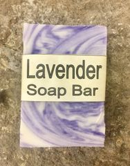 Lavender Handcrafted Natural Soap Bar - 2.5 ounce