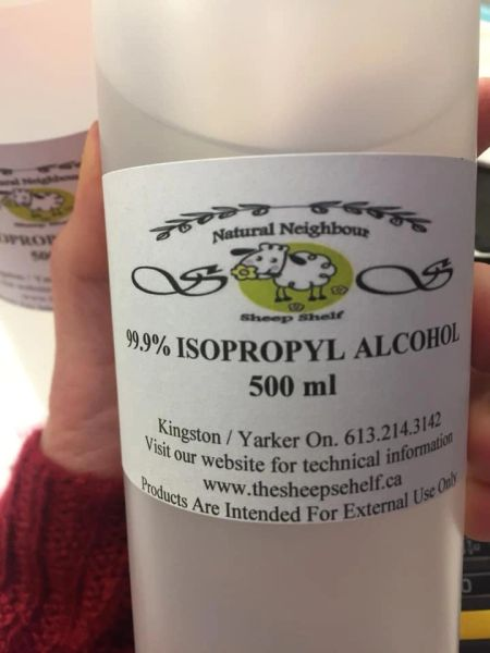 99.9% Isopropyl Alcohol Liquid Kingston Ontario Canada