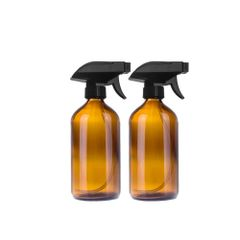 250 ml Amber Glass Trigger Spray Bottles
