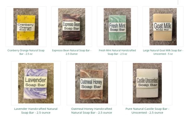 Hand Crafted Soaps - CLICK THE LINK TO VIEW ALL