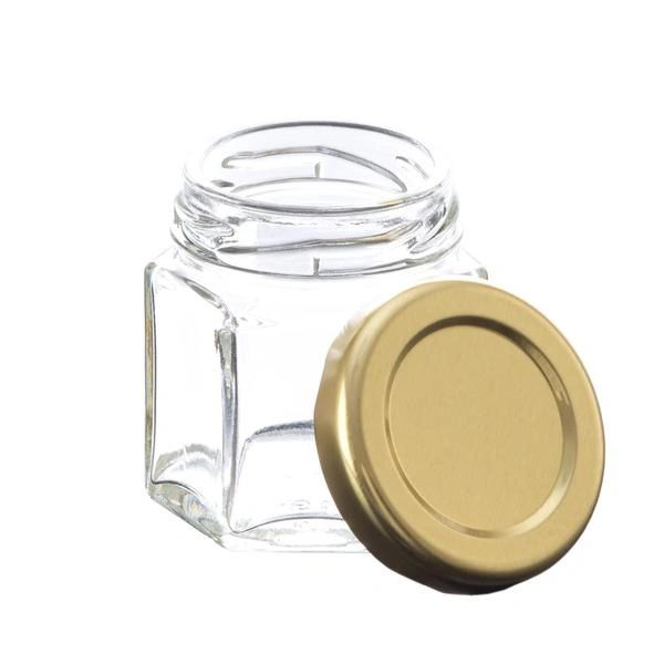 Glass Jar Hexagon 45 ml