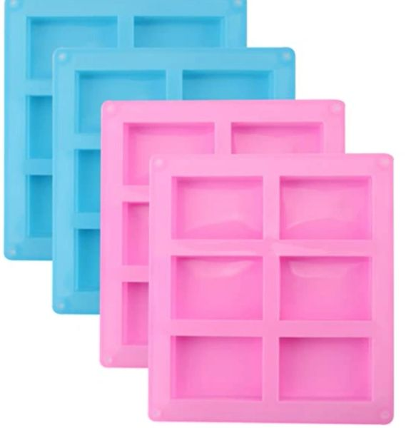 Soap Mold Silicone Reusable Kingston Ontario - 6 Cavities