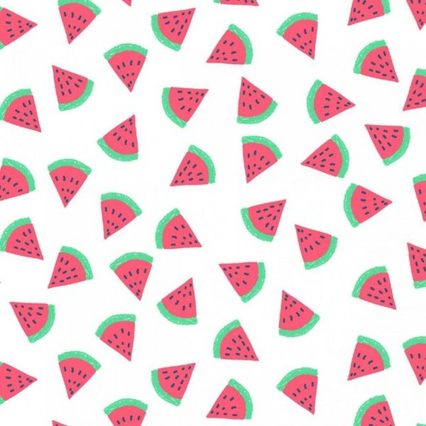Fabric For Beeswax Wraps - 100 % Cotton | Watermelon