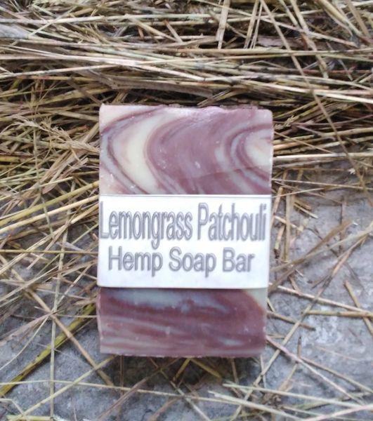Lemon Grass Patchouli Soap Bar Kingston Ontario Canada - 2.5 ounce