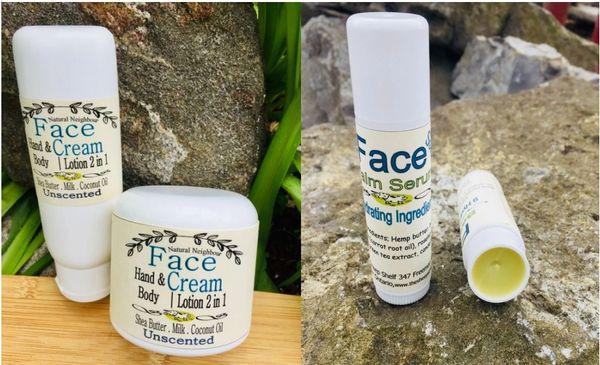 Cream and Serum Stick Combo - Free Shipping