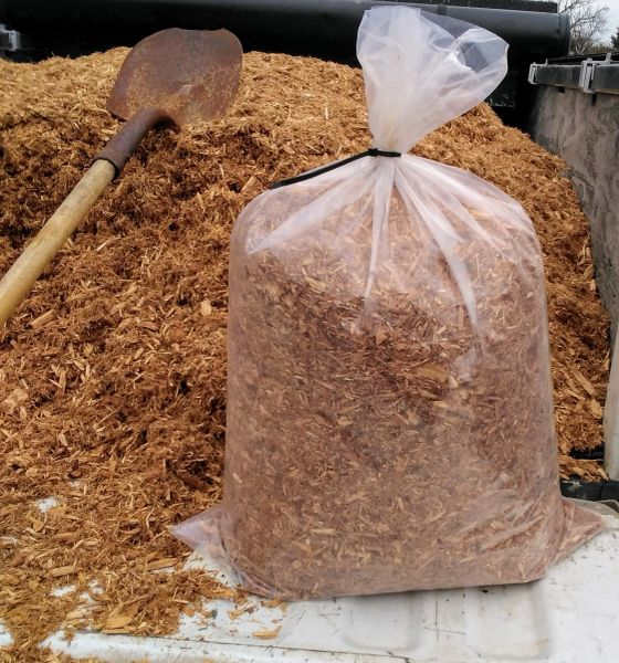 Natural Cedar Mulch Chips Kingston Ontario