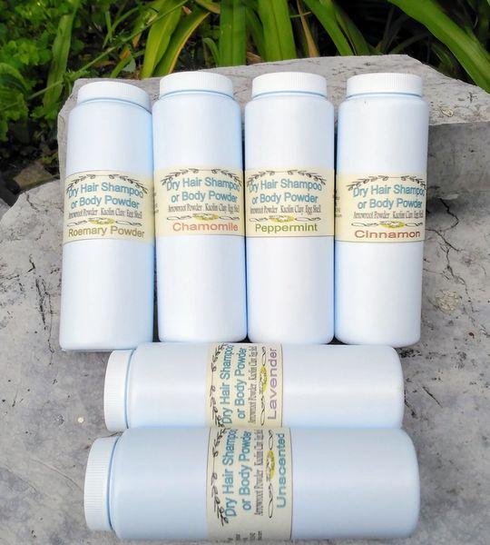 Dry Hair Shampoo Kingston Ontario - Body Powder - Baby Powder