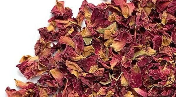 Red Rose Dried Flowers Kingston Ontario Canada Red Rose Petals and buds