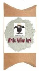White Will Bark Natural Face Mask - Just Add Water
