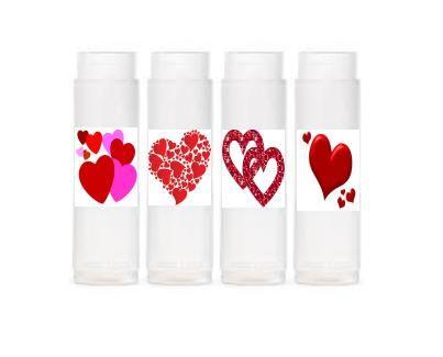 Valentine 4 Pack Cinnamon Natural Lip Balms
