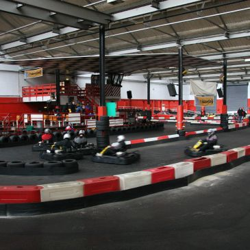 Indoor Go Karting Track Gloucestershire