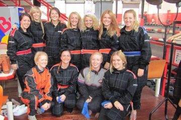 Hen Do GoKarting at JDR Karting Gloucester