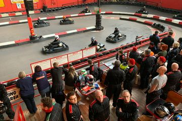 Stag Party Go Karting event for an exciting Stag Do at JDR Karting Gloucester