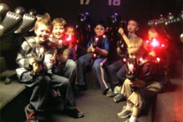 LaserTag birthday party Jdr Karting Activity Centre Gloucester