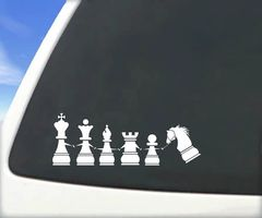 Chess Window Cling